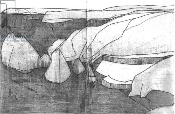 Mullion Cove, 2005 (pencil on paper)