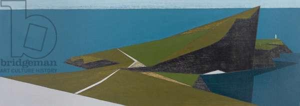 Sea Cliff 2 (acrylic on board)