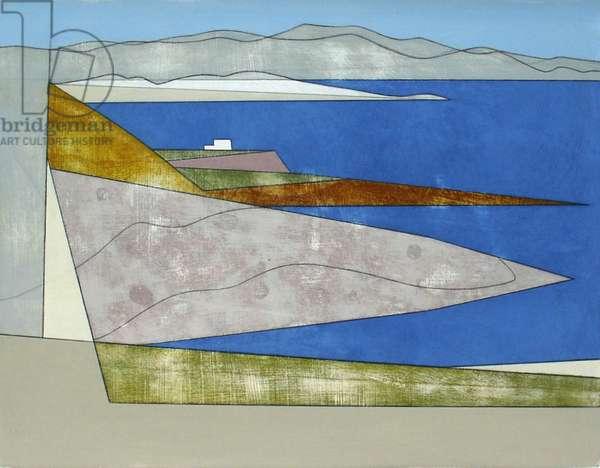 Attica Headlands 9, 2012 (acrylic on board)