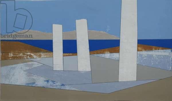 Delos 1, 2010 (acrylic on plywood)