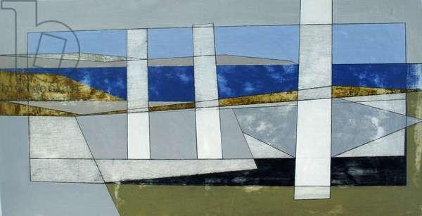 Delos 9, 2012 (acrylic on board)