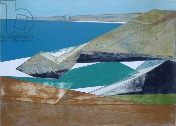 Harbour Coast 15, 2014 (acrylic on plywood)