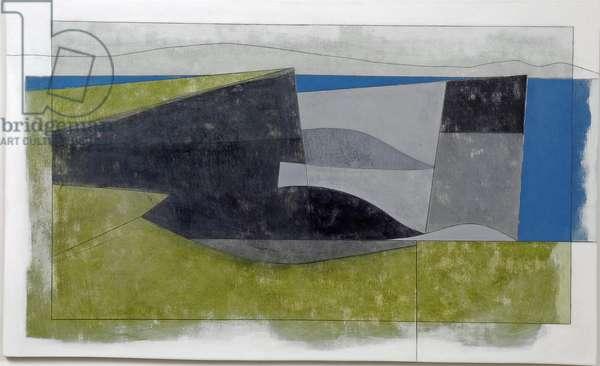 Downpatrick Head 2, 2007 (acrylic on board)