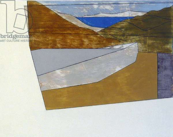 Paros 6, 2010 (acrylic on hardboard)