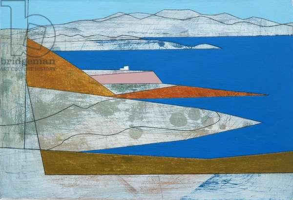 Attica Headlands 1, 2010 (acrylic on board)