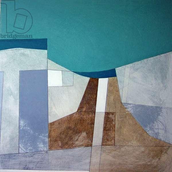 Lansallos 15, 2006 (acrylic on plywood)