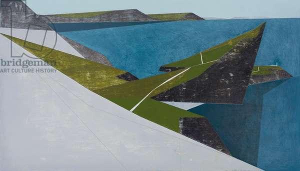 Sea Cliff 3 (acrylic on plywood)