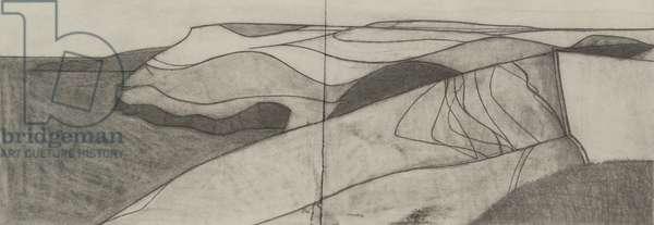 Pentargon drawing 7 2009 15x41cms pencil on paper