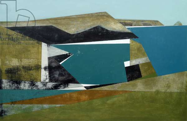 Harbour Cliff 2, 2014 (acrylic on board)