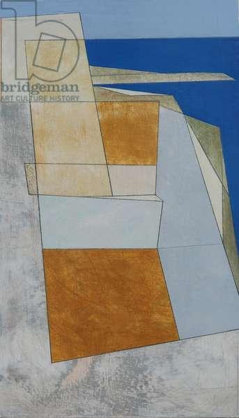 Palamidi 3, 2011 (acrylic on plywood)