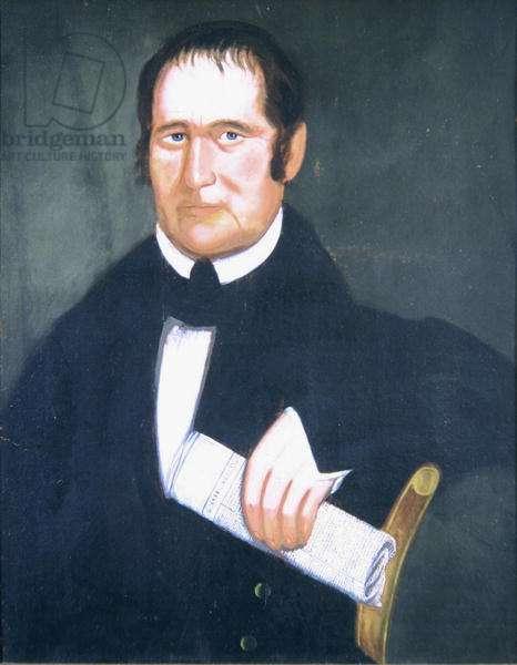 Portrait of Henry Stevens (1819-86) 1834 (oil on canvas)