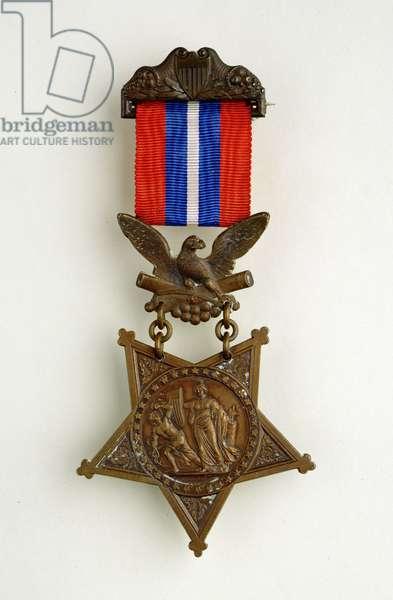 US Congressional Medal of Honour, 1863 (metal)