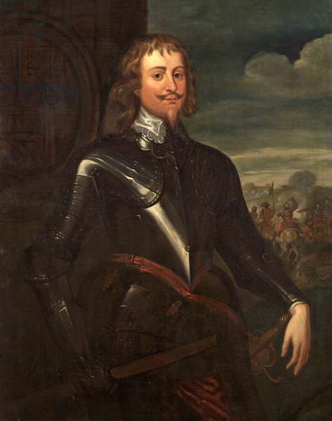Portrait of Sir Bevil Grenville at the Battle of Lansdown, c.1643 (oil on canvas)