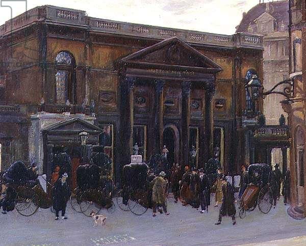 The Pump Room, Bath, 1925 (oil on board)