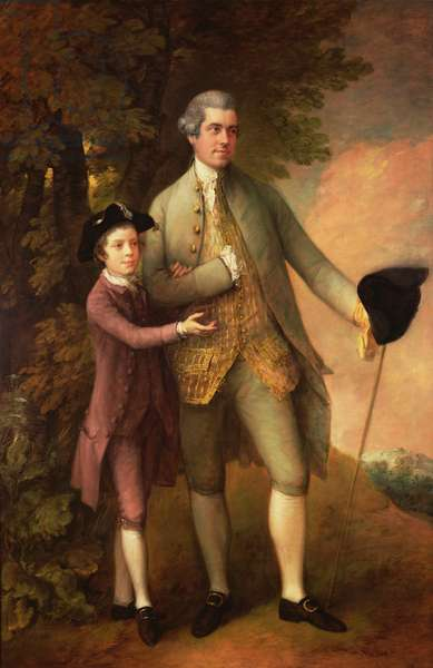 Thomas Rumbold and Son, c.1774 (oil on canvas)