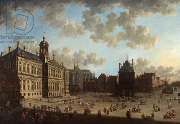 The Stadhuis, Amsterdam, c.1670-99 (oil on canvas)