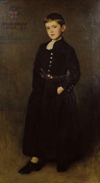 The Bluecoat Boy: portrait of Edward Logsdail (1896-1923) 1905 (oil on canvas)