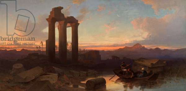 Ruins at Hierapolis, c.1844 (oil on canvas)