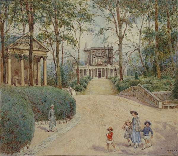 Sydney Gardens, Bath (w/c on paper)