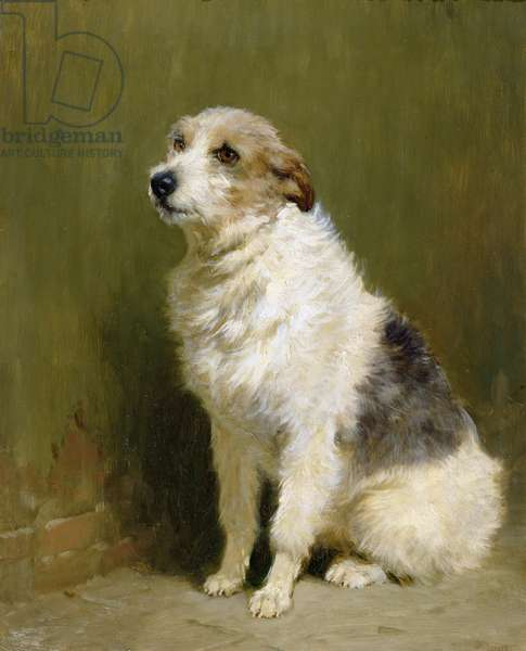 Portrait of Pilu, a Performing Dog, 1910 (oil on canvas)