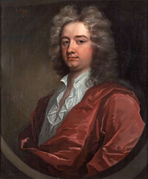 J. Gay, 1715 (oil on canvas)
