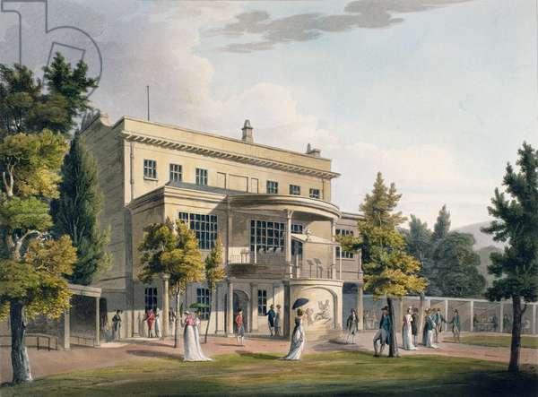 Sydney Gardens, Bath 1805 (aquatint)