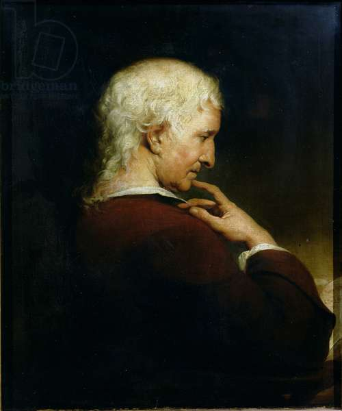 Portrait of Christopher Nugent M.D. (1715-75) 1772 (oil on canvas)