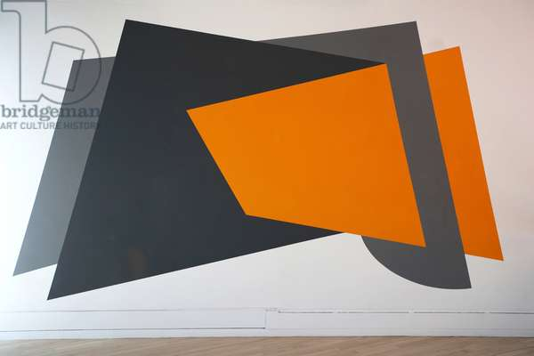 Vertigo in Three Parts, wall painting at Sadler's Wells Theatre, 2008 (photo)