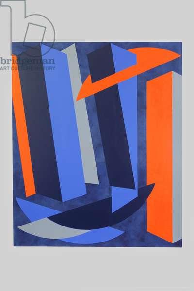 Splice, 2017 (oil on canvas)