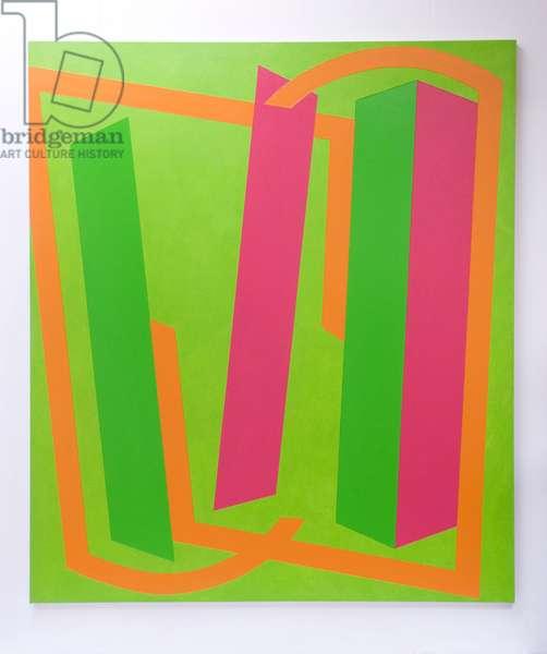 Go On Green, 2012 (oil on canvas)