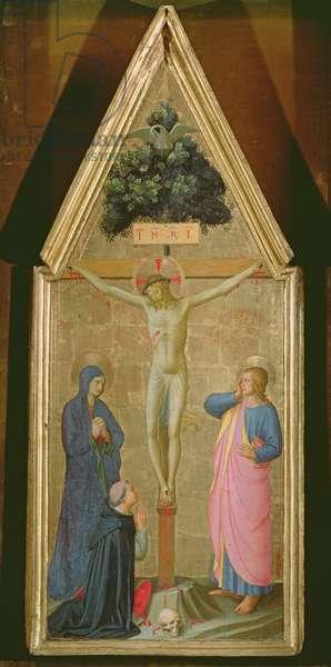 Crucifixion (tempera on panel)