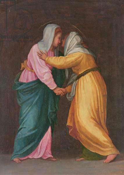 The Visitation, Carro della Zecca (fresco)