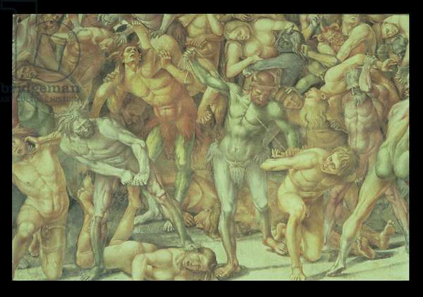 Hell, from the Last Judgement (fresco) (detail)