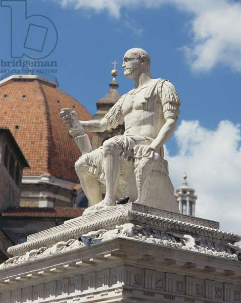Monument to Giovanni dalle Bande Nere, Piazza San Lorenzo, Florence (marble)