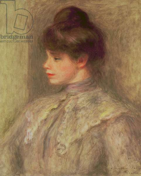 Portrait of Suzanne Valtat, 1903 (oil on canvas)