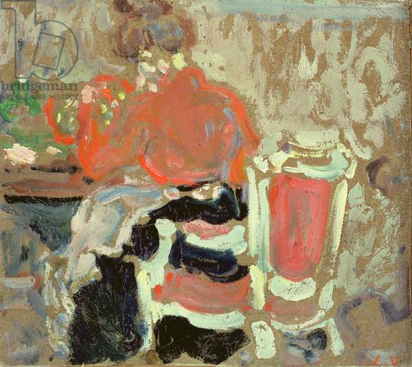 Seated woman, 1903 (oil on card)
