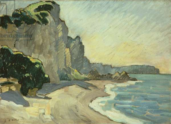 La Falaise, 1924 (oil on canvas)