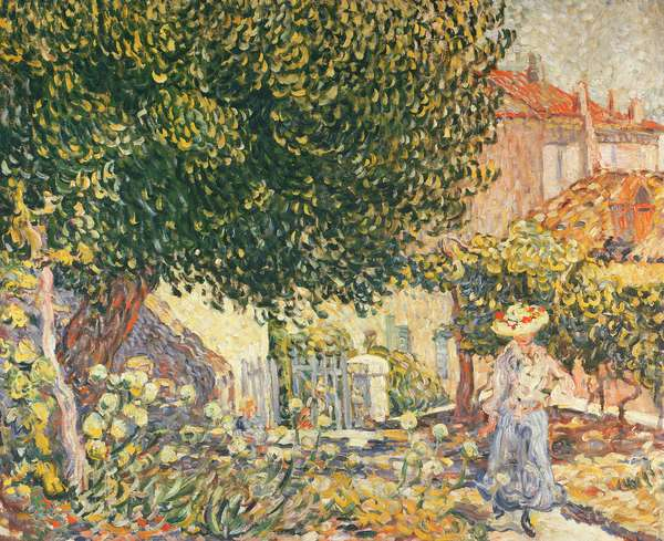 Woman in the Garden, 1902 (oil on canvas)