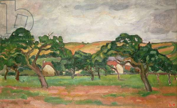 Normandy, 1912 (oil on canvas)
