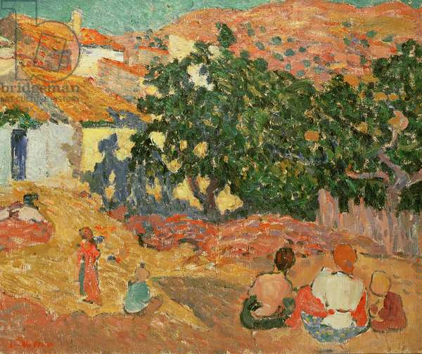 Spanish Landscape, 1894 (oil on canvas)