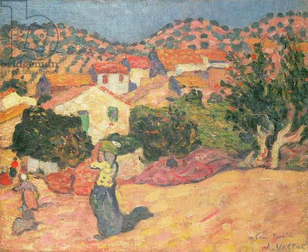 Spanish Landscape, 1895 (oil on canvas)