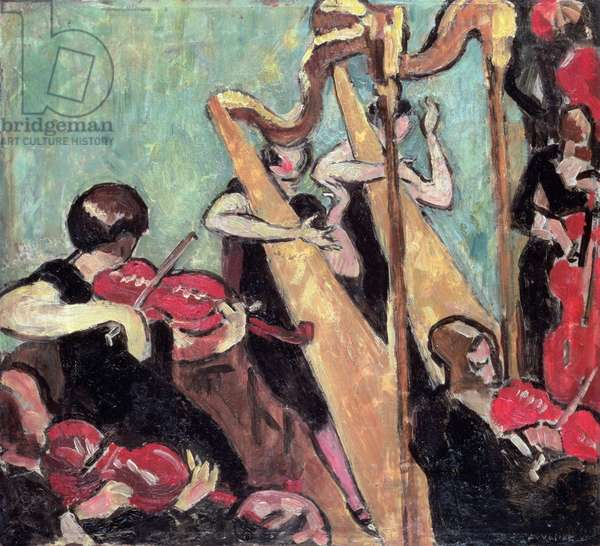 The Concert, 1930 (oil on canvas)