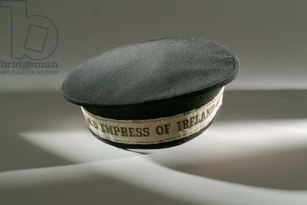 Cap band from the CPR Steamer 'Empress of Ireland'