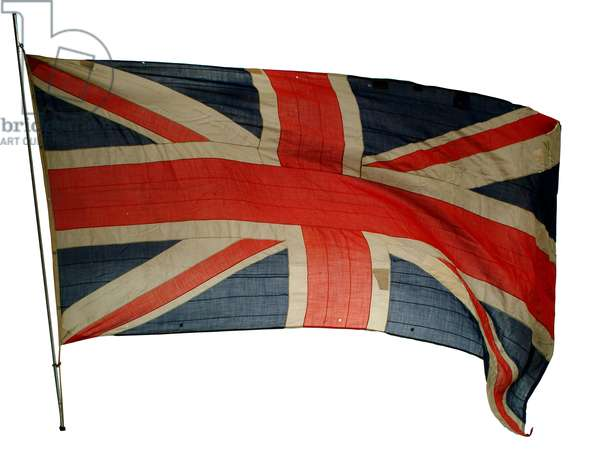 Union Jack from 'HMS Hood' (textile)
