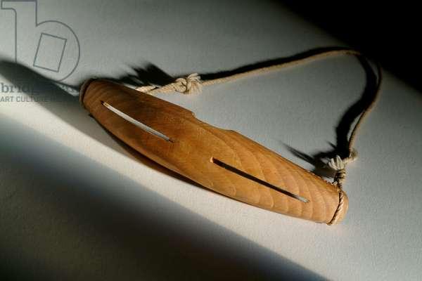 Snow goggles (wood)