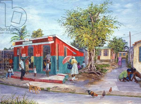 Ivy Folks, 1999 (oil on canvas)