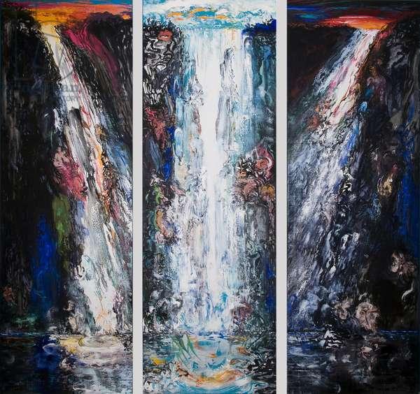 Dawn, Day, Dusk, 2008 (oil on canvas)