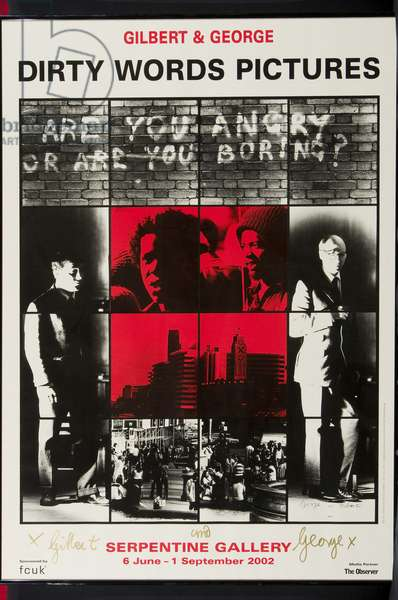 Dirty Words Pictures, 2002 (colour litho)