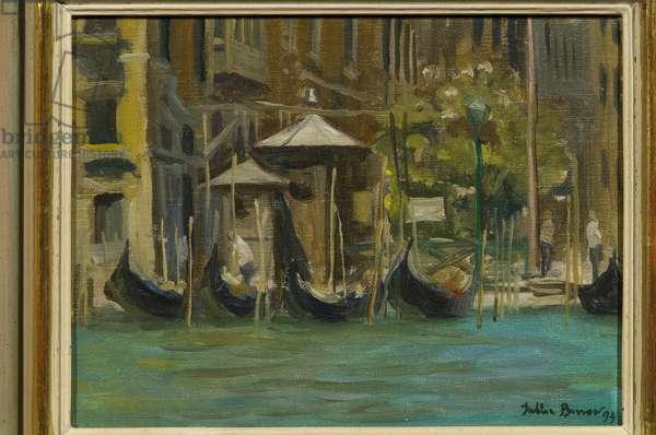 Venice, 1994 (oil on canvas)