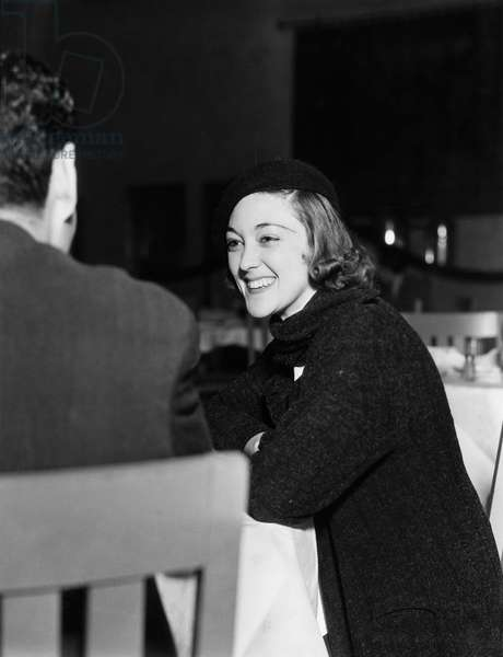 Portrait of Woman Enjoying Mans Company